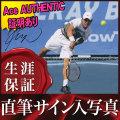 【直筆サイン入り写真】 錦織 圭 /テニス 選手 グッズ ラケットを持った写真 /ブロマイド オートグラフ [Ace AUTHENTIC]
