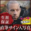 【直筆サイン入り写真】 トリプルX:再起動 等 ヴィンディーゼル Vin Diesel /映画 ブロマイド オートグラフ