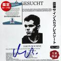 【直筆サイン入りプレスシート】 ジェイソンボーン 映画グッズ マットデイモン オートグラフ フレーム別 Matt Damon