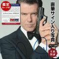 【直筆サイン入り写真】 007 映画シリーズ 歴代 ジェームズボンド グッズ ピアースブロスナン Pierce Brosnan オートグラフ フレーム別
