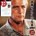 【直筆サイン入り写真】 栄光への脱出 ハスラー 映画グッズ ポールニューマン Paul Newman アート 写真 オートグラフ フレーム別 /鑑定済み