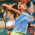 【直筆サイン入り写真】 大坂 なおみ /テニス ラケットを持った写真 /ブロマイド オートグラフ /フレーム別