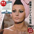 【直筆サイン入り写真】 アラベスク 映画グッズ ソフィアローレン Sophia Loren オートグラフ フレーム別 鑑定済