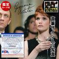 【直筆サイン入り写真】 007 慰めの報酬 ジェマ・アータートン 映画グッズ アート インテリア オートグラフ フレーム別 /鑑定済み