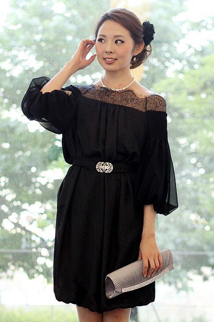 レンタルドレス リトルブラックドレス Amelia
