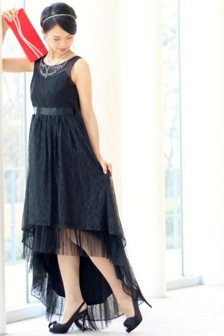 レンタルドレス リトルブラックドレス Noel