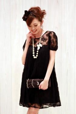 レンタルドレス リトルブラックドレス Anne