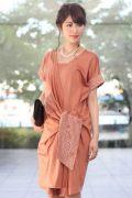 レンタルドレス マタニティ Diane-Orange