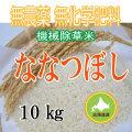 無農薬無化学肥料栽培 ななつぼし10kg