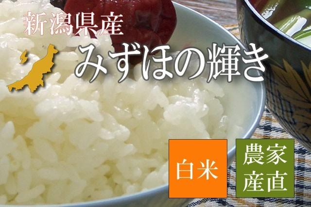 新潟県産みずほの輝き 白米