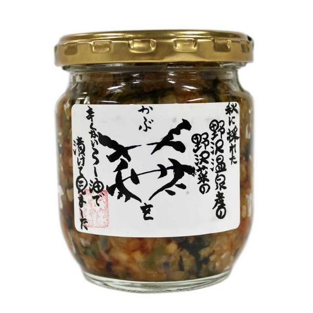 野沢菜蕪ラー油