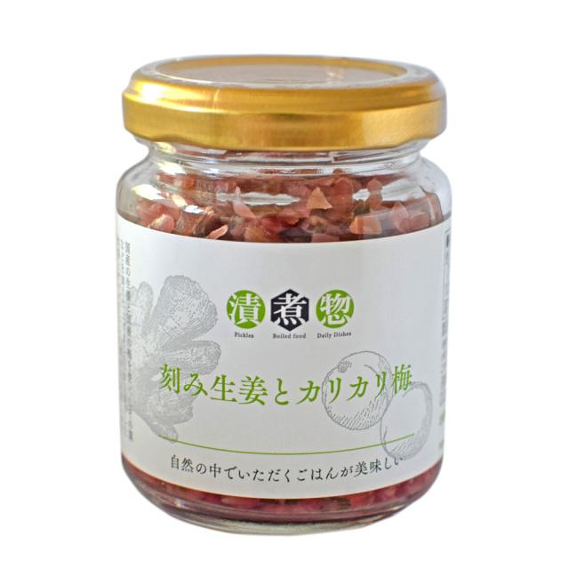漬煮惣 刻み生姜とカリカリ梅 メイン