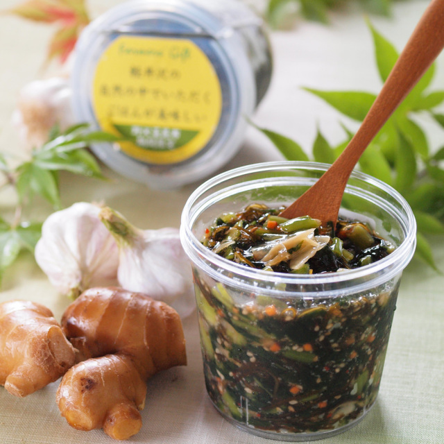 野沢菜昆布にんにく生姜味【冷蔵品】