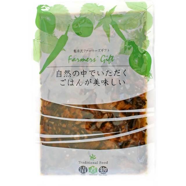 鶏肉風味噌だれ炒め煮(野沢菜入)