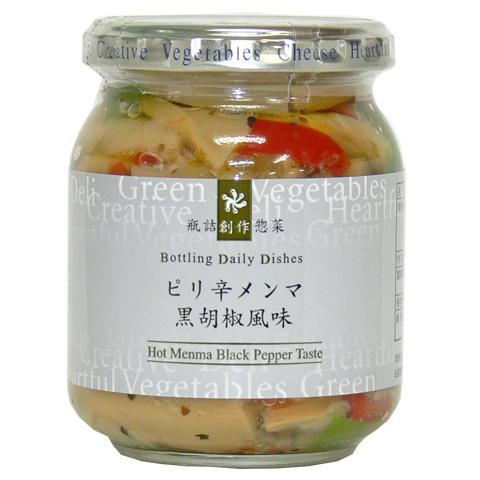 ピリ辛メンマ黒胡椒風味