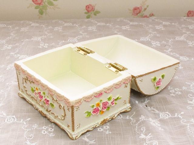 プリンセス アンティークボックス ホワイト