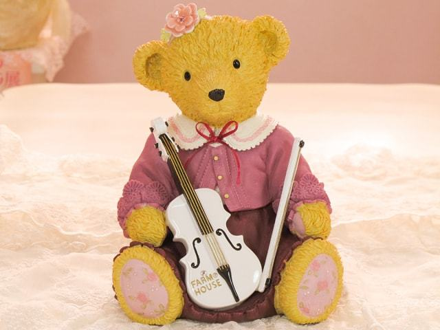 バイオリンベアバンク 女の子
