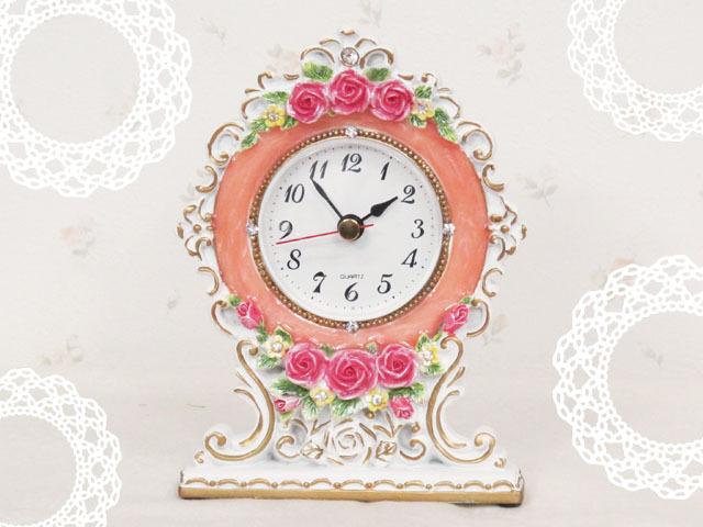 ロイヤルローズ 置時計