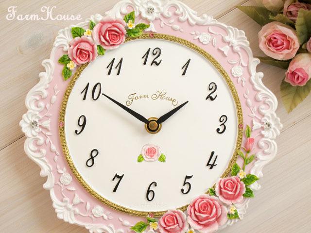 プリンセスローズ掛時計