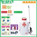 【背負式バッテリー噴霧器】ASABA BP-15Li-DX2 「瞳」 タンク容量15L/10.8Vリチウムイオン搭載