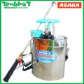 除草剤散布 農薬散布 麻場 ステンレス製肩掛け噴霧器 5型 5リッター