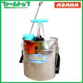 麻場 ステンレス製肩掛け噴霧機 10型 10L 耐久性に優れたステンレス製