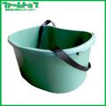 肥料散布&収穫桶 ダークグリーン 18型