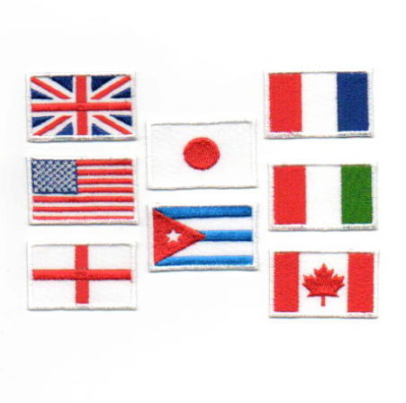 国旗ワッペン
