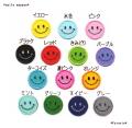 スマイル☆にこちゃんのワッペン【1cm/2cm/3cm/5cm/7cm】