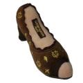 幸せオーラ満載!アメリカで大人気犬用おもちゃ Chewy Vuiton Shoe (S)