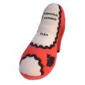 ペットとオーナーのハートわしづかみ 幸せオーラ満載!アメリカで大人気犬用おもちゃ Christian Loubarkin Shoe (L)