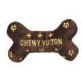 ペットとオーナーのハートわしづかみ 幸せオーラ満載!アメリカで大人気犬用おもちゃ Chewy Vuiton Bone (Petite)