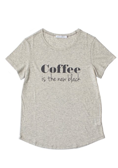 SOUTH PARADE(サウスパレード) coffee is the new black KELLY Tシャツ(LHGY)