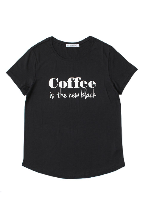 SOUTH PARADE(サウスパレード) coffee is the new black KELLY Tシャツ(SBLK)
