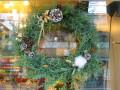 クリスマスリース・ブルーアイス