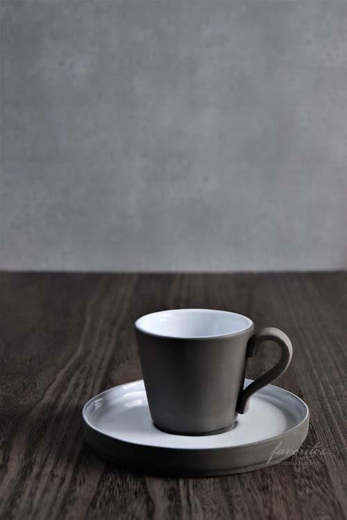 COSTA  NOVA(コスタノバ)   LAGOA ECO GRES(ラゴア エコ グレース) コーヒーカップ&ソーサー(エスプレッソ)