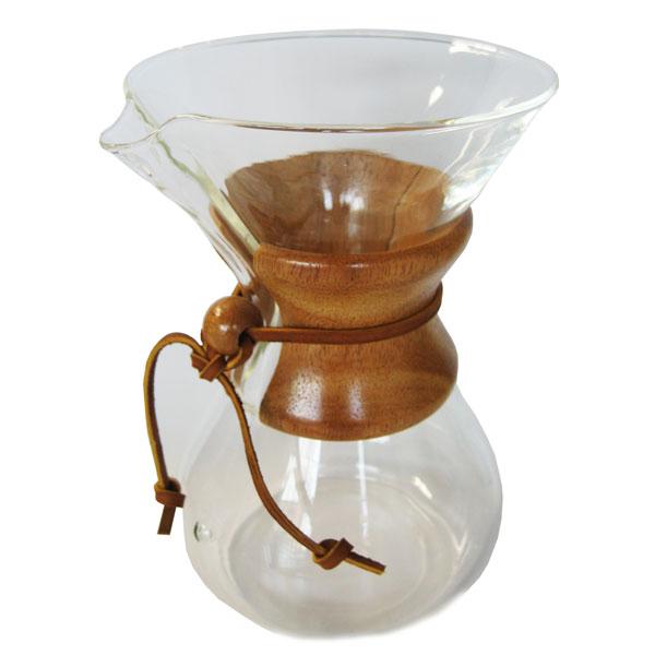 CHEMEX(ケメックス) コーヒーメーカー クラシック(マシンメイド) 6cup