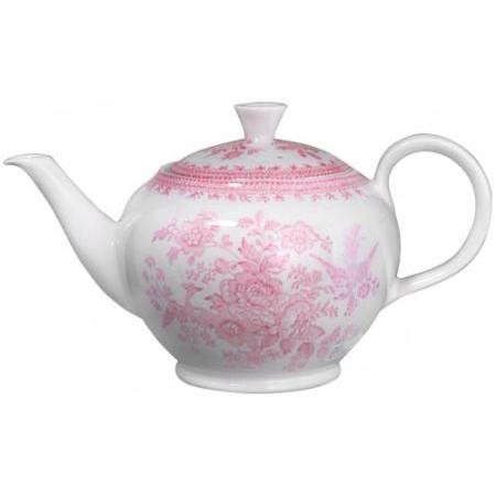 【送料無料】 Burleigh(バーレイ) |ピンク アジアティック フェザンツ ティーポット Lサイズ