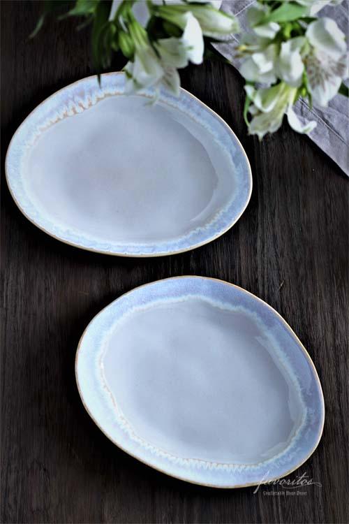 COSTA  NOVA(コスタノバ)   BRISA(ブリサ) オーバルプレート M(ホワイト)