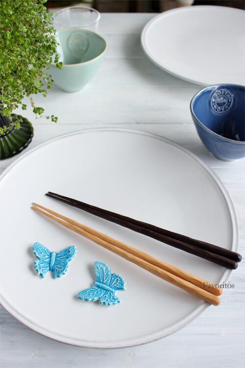 けずり箸・蜜蝋仕上げ(桜/鉄刀木)