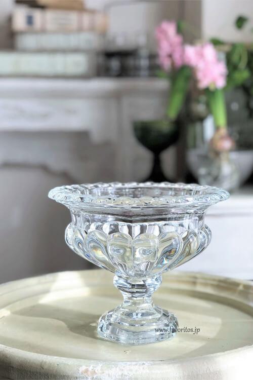 ガラス ゴブレット フラワーベース