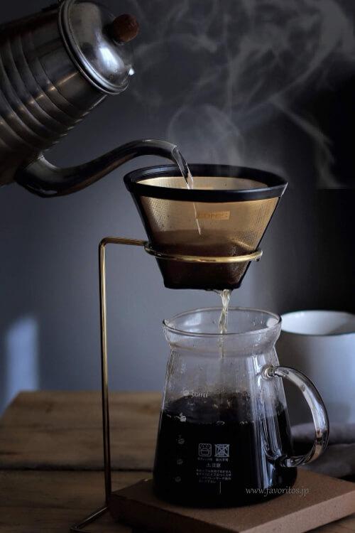 BRASS コーヒー ドリップスタンド
