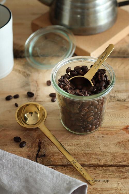 BRASS コーヒー スプーン