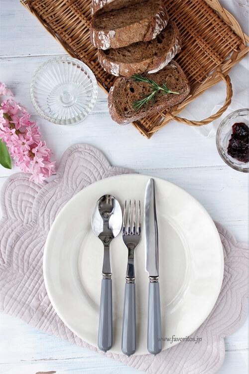 Cote Table(コテ・ターブル)| カトラリー ビストロ  グレー