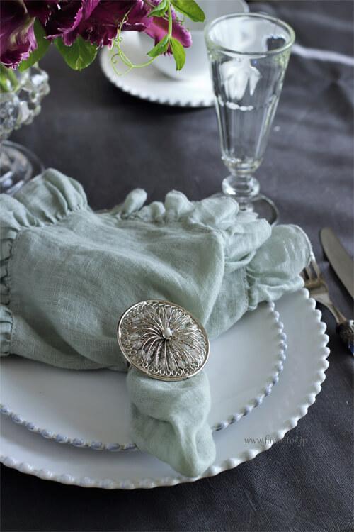 Cote Table(コテ・ターブル)| ナプキンリング BAGUE(バーグ)