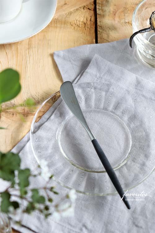 Cutipol(クチポール) | GOA ブラック×シルバー バターナイフ