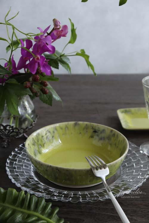COSTA  NOVA(コスタノバ)   MADEIRA(マデイラ)スープ&パスタプレート(グレー/ブルー/レモングリーン)