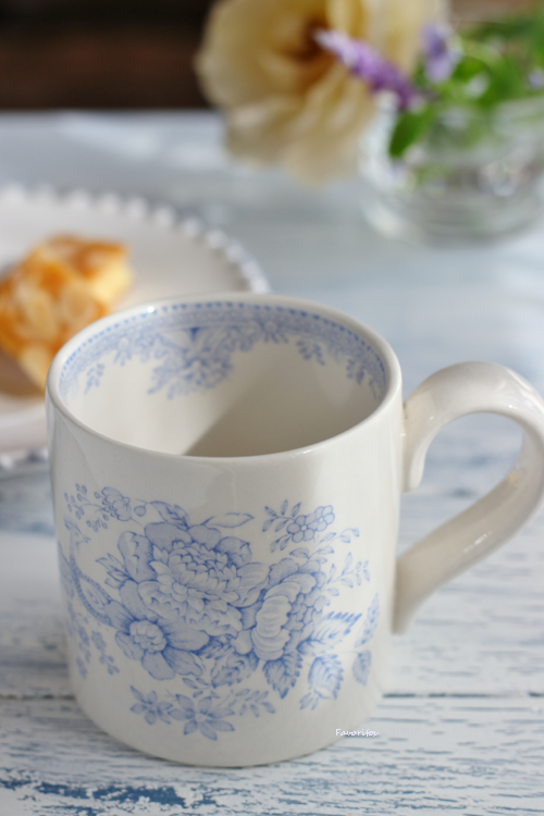 burleigh(バーレイ) |ブルー アジアティック フェザンツ マグカップ