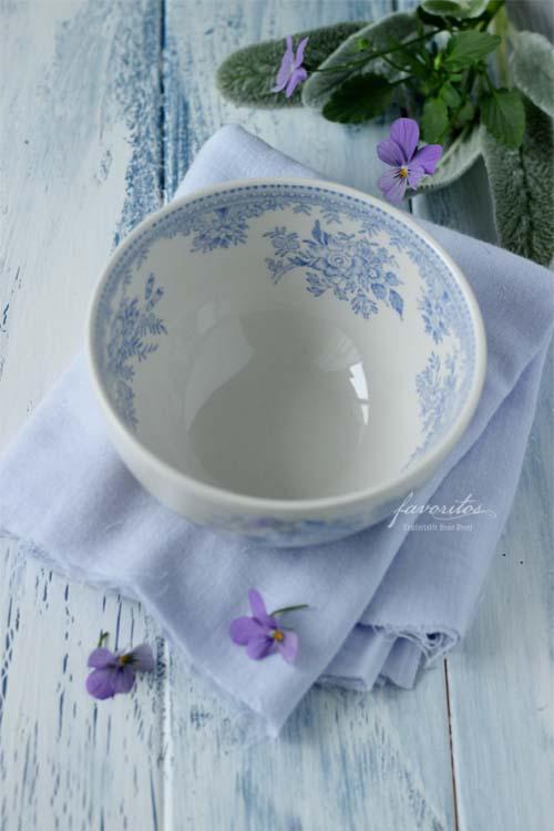 burleigh(バーレイ)  ブルー アジアティック フェザンツ シュガーボウル Lサイズ