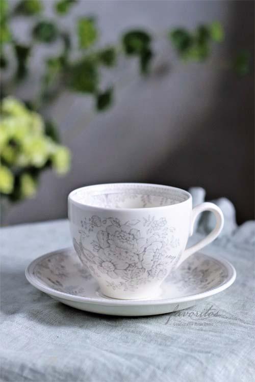 burleigh(バーレイ) |ダブグレイ アジアティックフェザンツ カップ&ソーサー
